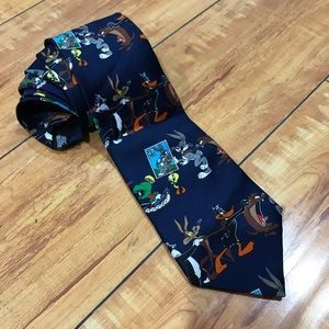 Looney Tunes  Stamp Collection Bugs Parade Tie